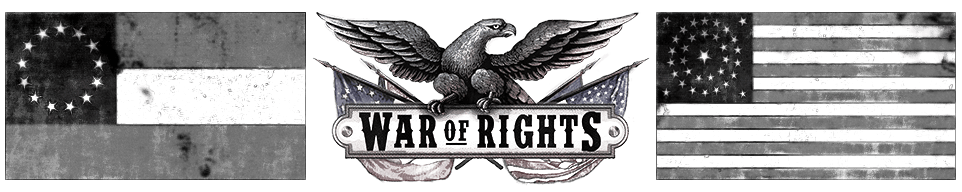 War of Rights Header